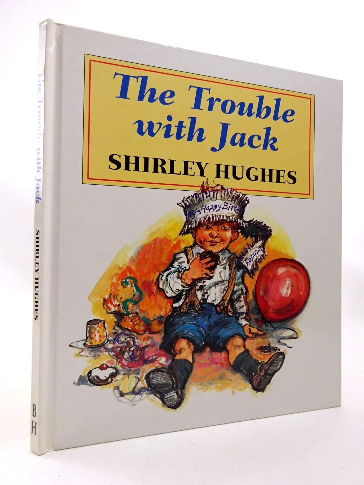 Photo of THE TROUBLE WITH JACK written by Hughes, Shirley illustrated by Hughes, Shirley published by The Bodley Head (STOCK CODE: 1815532)  for sale by Stella & Rose's Books