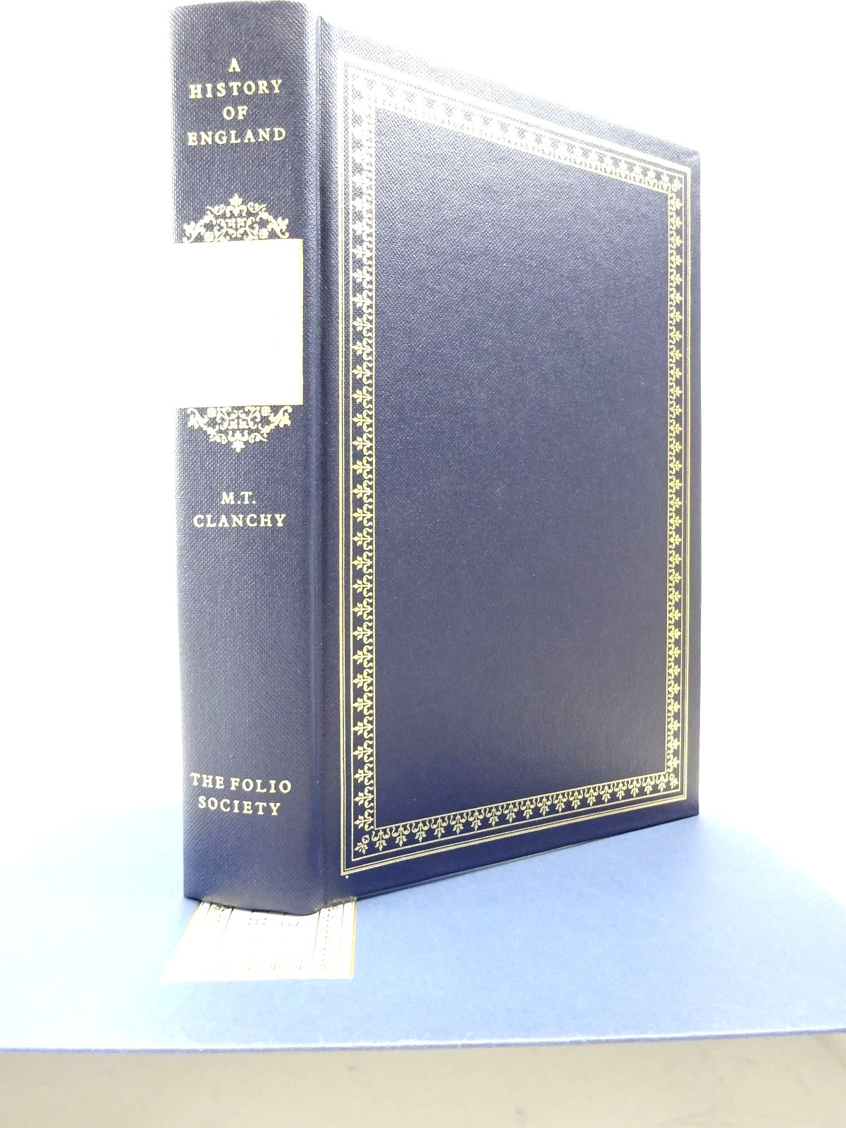 Photo of A HISTORY OF ENGLAND: EARLY MEDIEVAL ENGLAND written by Clanchy, M.T. published by Folio Society (STOCK CODE: 1815556)  for sale by Stella & Rose's Books