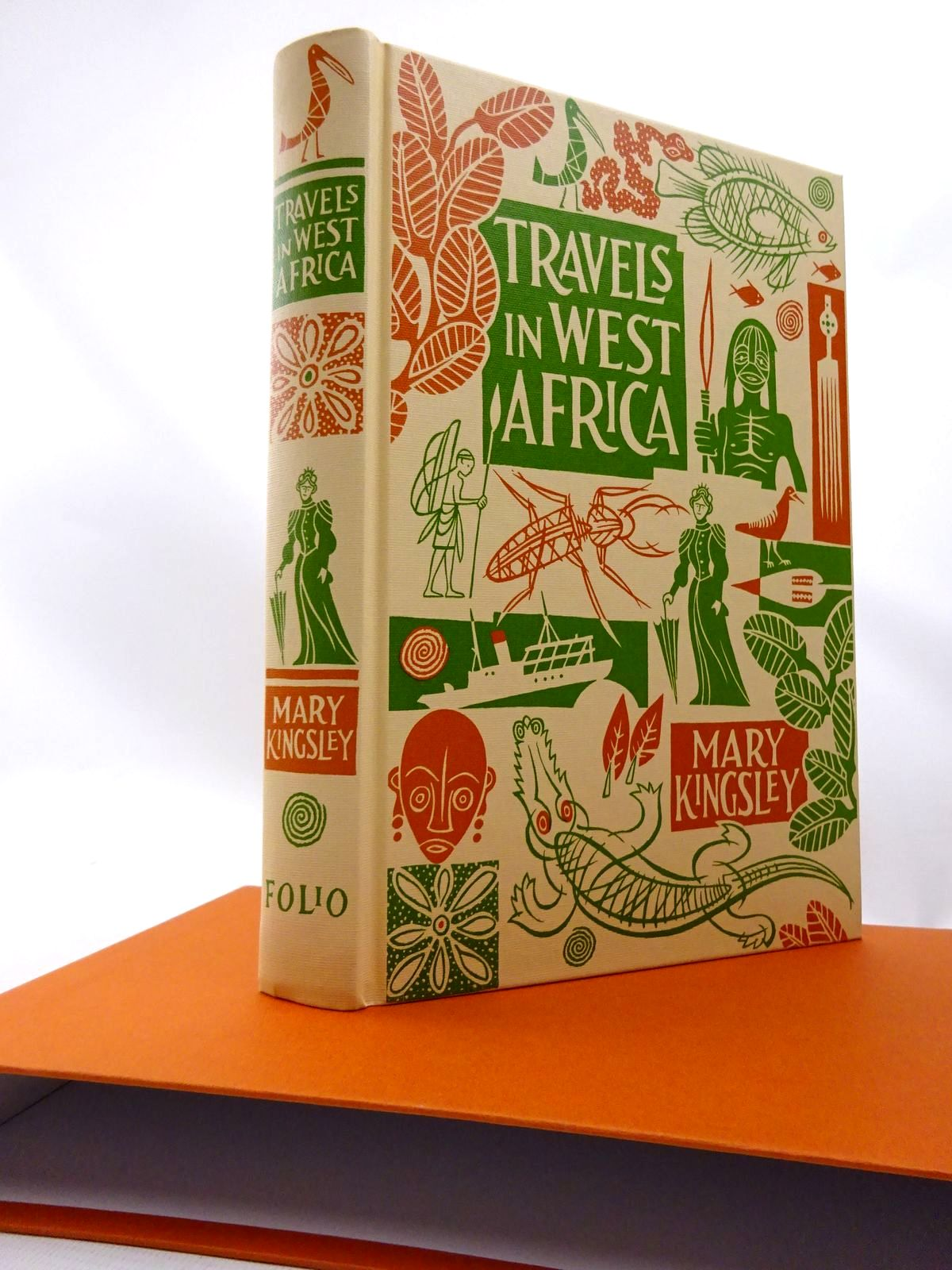 Photo of TRAVELS IN WEST AFRICA written by Kingsley, Mary published by Folio Society (STOCK CODE: 1815559)  for sale by Stella & Rose's Books