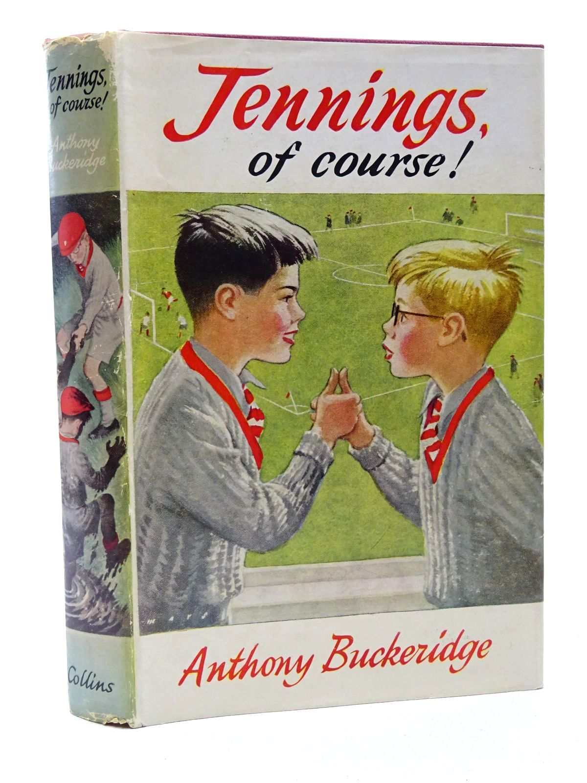 Photo of JENNINGS, OF COURSE! written by Buckeridge, Anthony illustrated by Mays,  published by Collins (STOCK CODE: 1815590)  for sale by Stella & Rose's Books