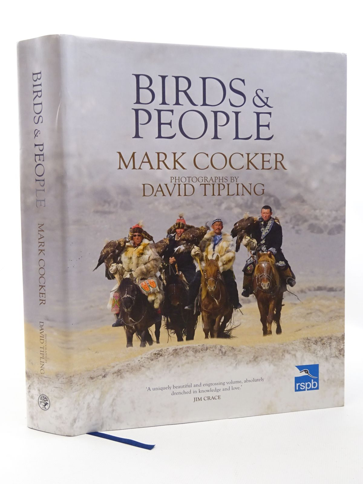 Photo of BIRDS AND PEOPLE written by Cocker, Mark illustrated by Tipling, David published by Jonathan Cape (STOCK CODE: 1815604)  for sale by Stella & Rose's Books