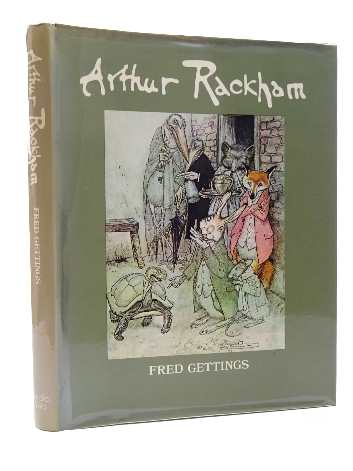Photo of ARTHUR RACKHAM written by Gettings, Fred illustrated by Rackham, Arthur published by Studio Vista (STOCK CODE: 1815628)  for sale by Stella & Rose's Books