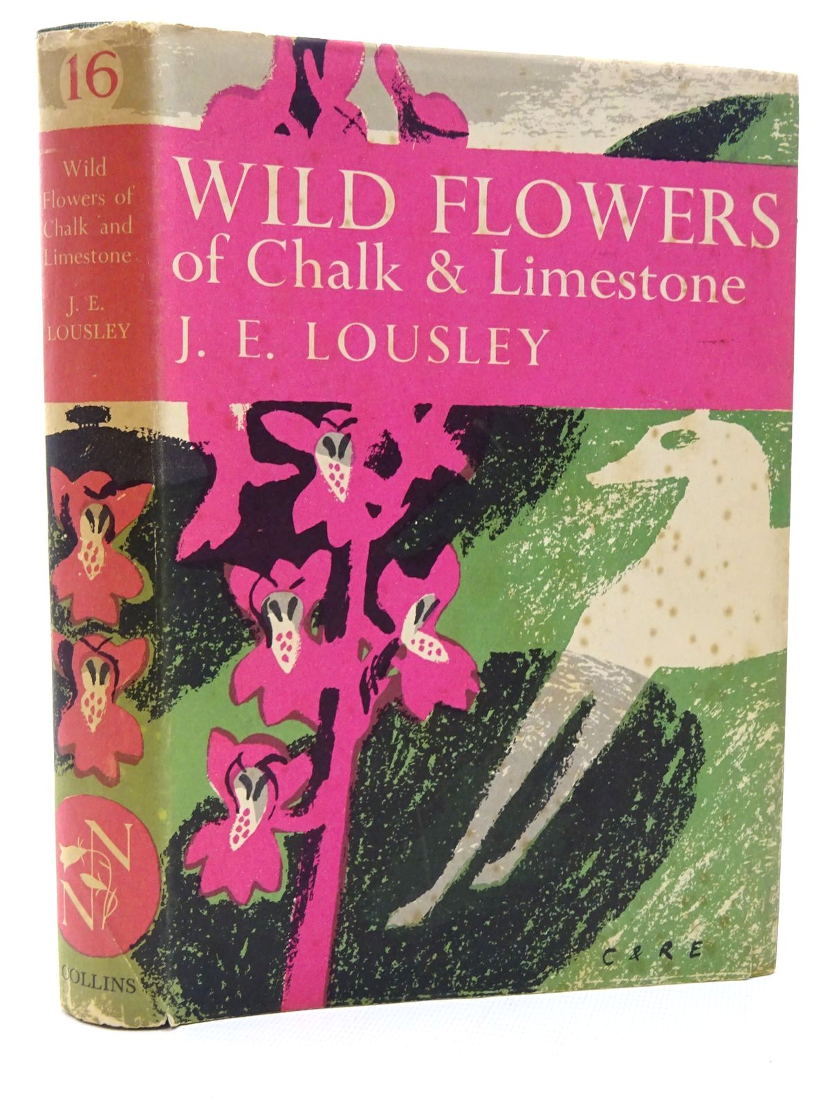 Photo of WILD FLOWERS OF CHALK & LIMESTONE (NN 16) written by Lousley, J.E. published by Collins (STOCK CODE: 1815669)  for sale by Stella & Rose's Books
