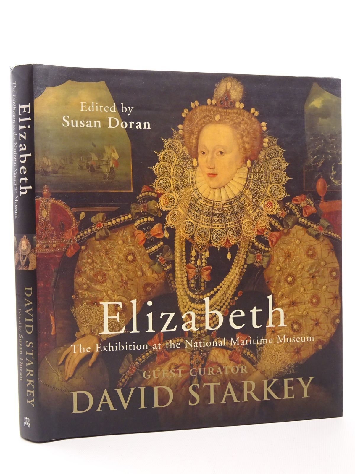 Photo of ELIZABETH written by Starkey, David<br />Doran, Susan published by Chatto & Windus (STOCK CODE: 1815732)  for sale by Stella & Rose's Books
