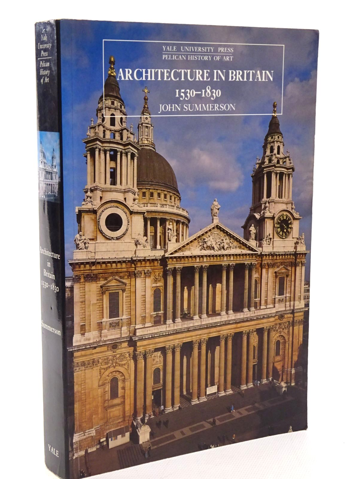 Photo of ARCHITECTURE IN BRITAIN 1530-1830 written by Summerson, John published by Yale University Press (STOCK CODE: 1815748)  for sale by Stella & Rose's Books