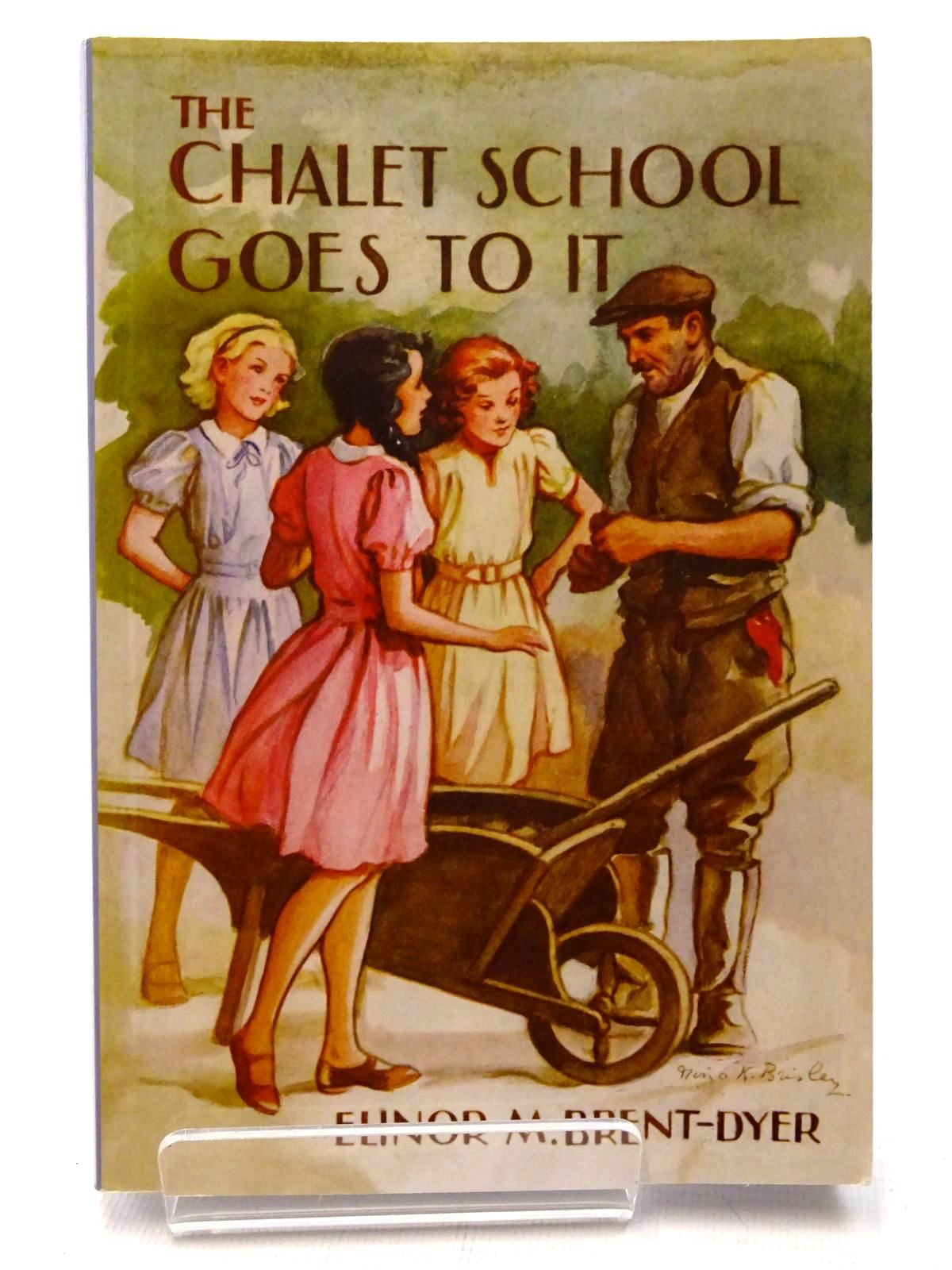 Photo of CHALET SCHOOL GOES TO IT written by Brent-Dyer, Elinor M. published by Girls Gone By (STOCK CODE: 1815762)  for sale by Stella & Rose's Books