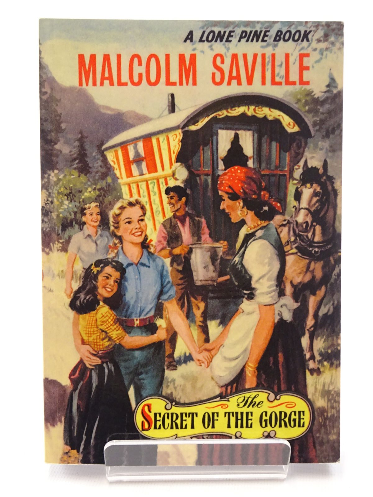 Photo of THE SECRET OF THE GORGE written by Saville, Malcolm published by Girls Gone By (STOCK CODE: 1815763)  for sale by Stella & Rose's Books