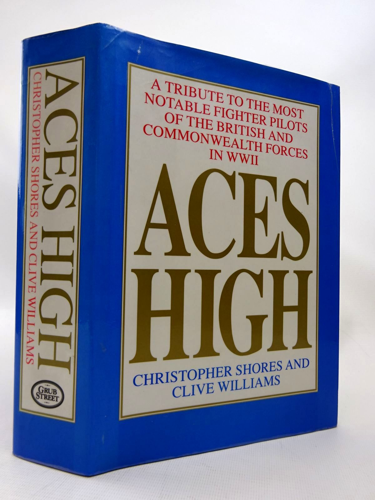 Photo of ACES HIGH written by Shores, Christopher<br />Williams, Clive published by Grub Street (STOCK CODE: 1815813)  for sale by Stella & Rose's Books