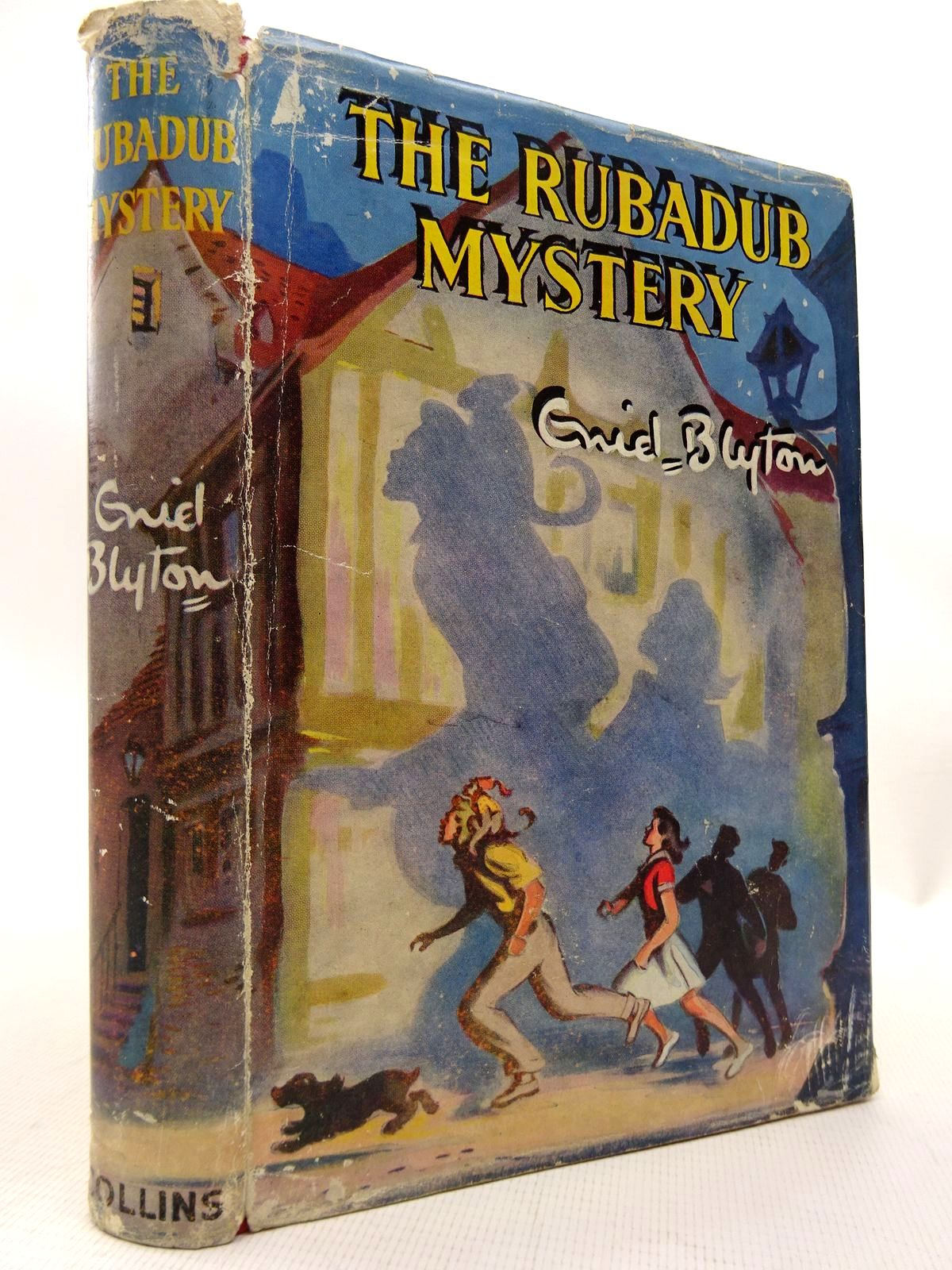 Photo of THE RUBADUB MYSTERY written by Blyton, Enid illustrated by Dunlop, Gilbert published by Collins (STOCK CODE: 1815827)  for sale by Stella & Rose's Books