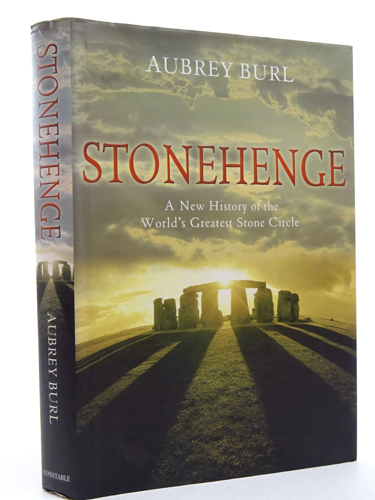 Photo of STONEHENGE written by Burl, Aubrey published by Constable (STOCK CODE: 1815885)  for sale by Stella & Rose's Books