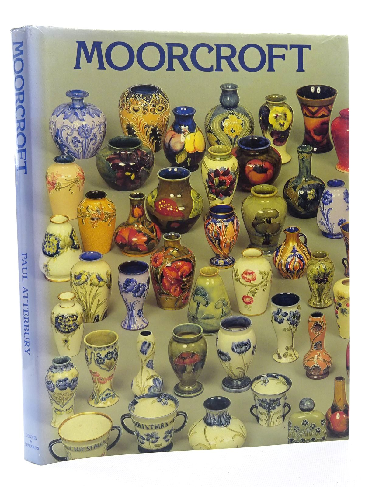 Photo of MOORCROFT A GUIDE TO MOORCROFT POTTERY 1897 - 1990 written by Atterbury, Paul published by Richard Dennis, Hugh Edwards (STOCK CODE: 1815932)  for sale by Stella & Rose's Books