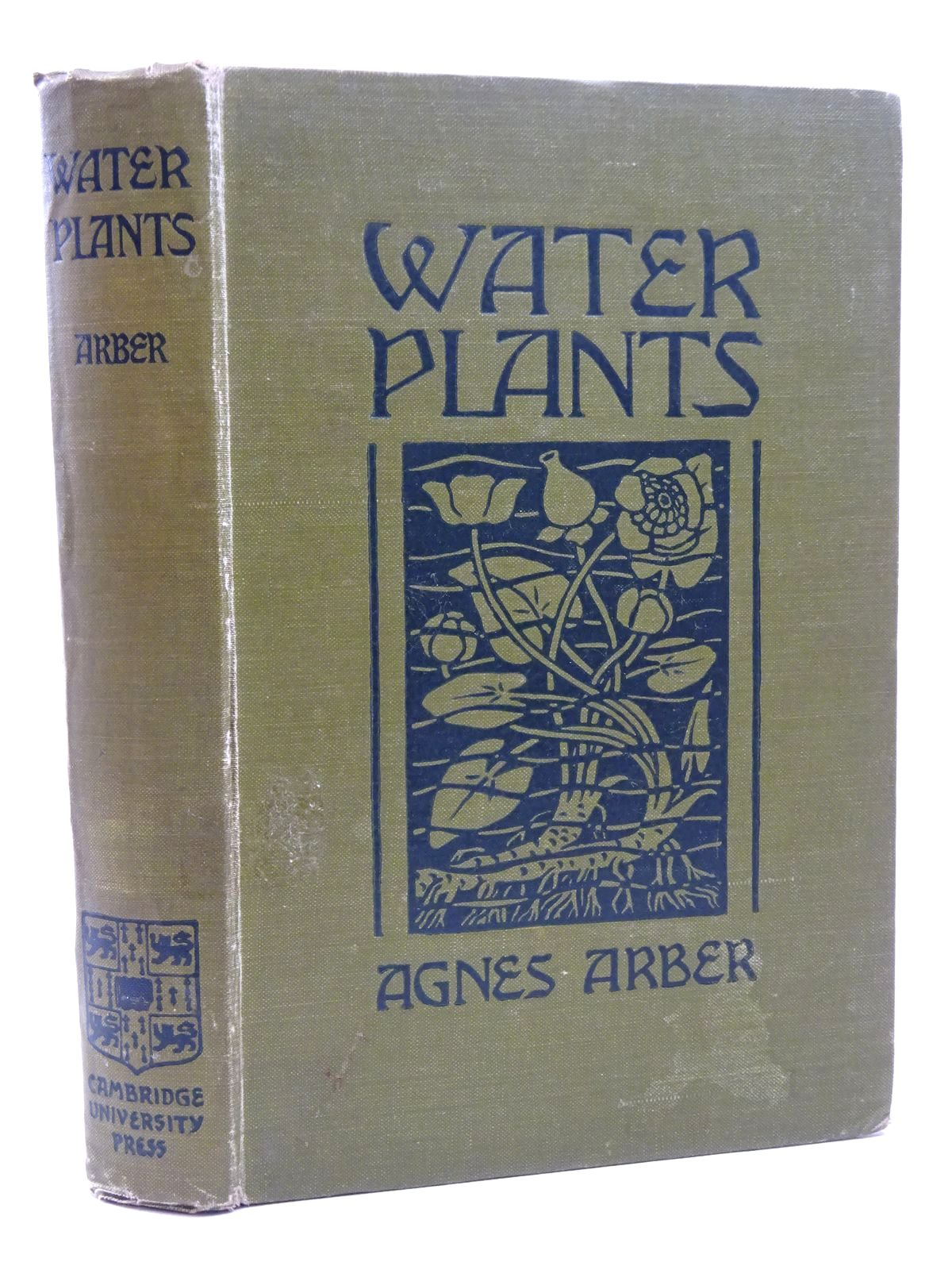 Photo of WATER PLANTS: A STUDY OF AQUATIC ANGIOSPERMS written by Arber, Agnes published by Cambridge University Press (STOCK CODE: 1815935)  for sale by Stella & Rose's Books