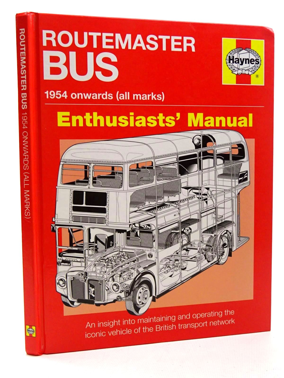 Photo of ROUTEMASTER BUS: 1954 ONWARDS (ALL MARKS): ENTHUSIASTS' MANUAL written by Morgan, Andrew published by Haynes (STOCK CODE: 1815937)  for sale by Stella & Rose's Books