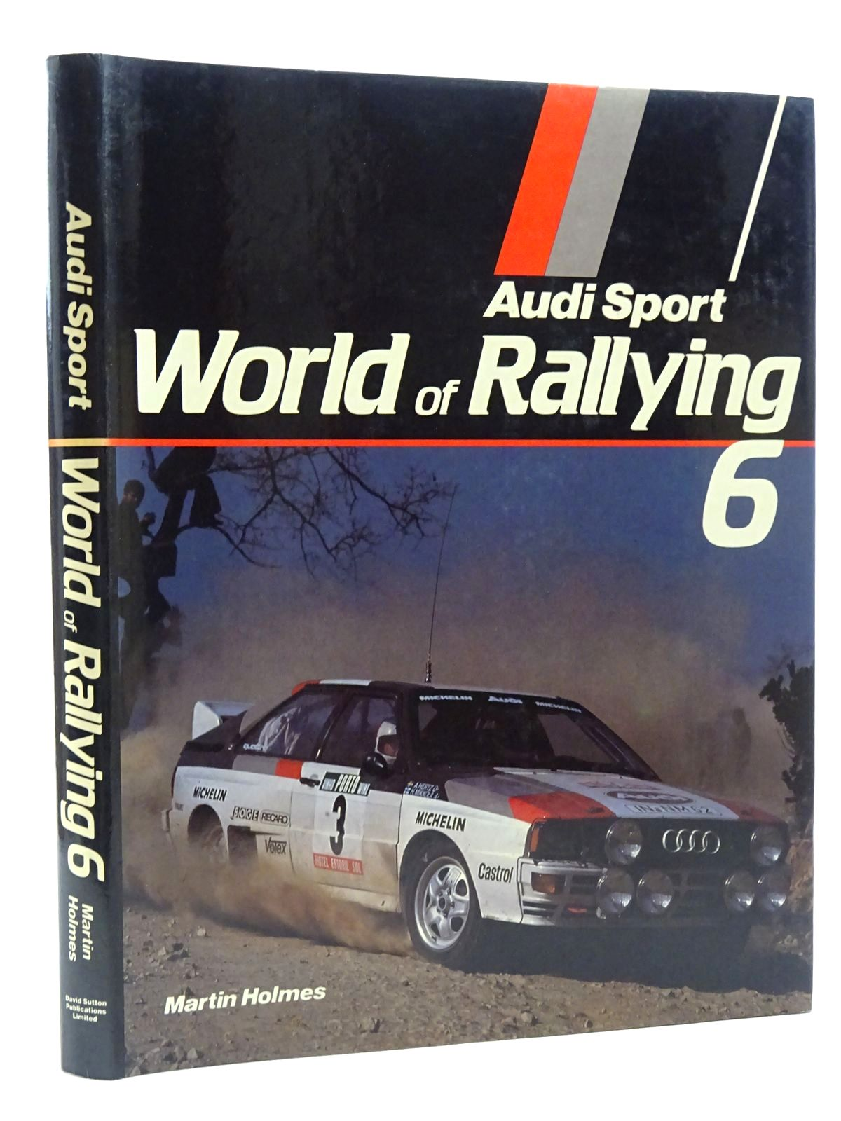 Photo of AUDI SPORT WORLD OF RALLYING 6 written by Holmes, Martin published by David Sutton (STOCK CODE: 1815964)  for sale by Stella & Rose's Books