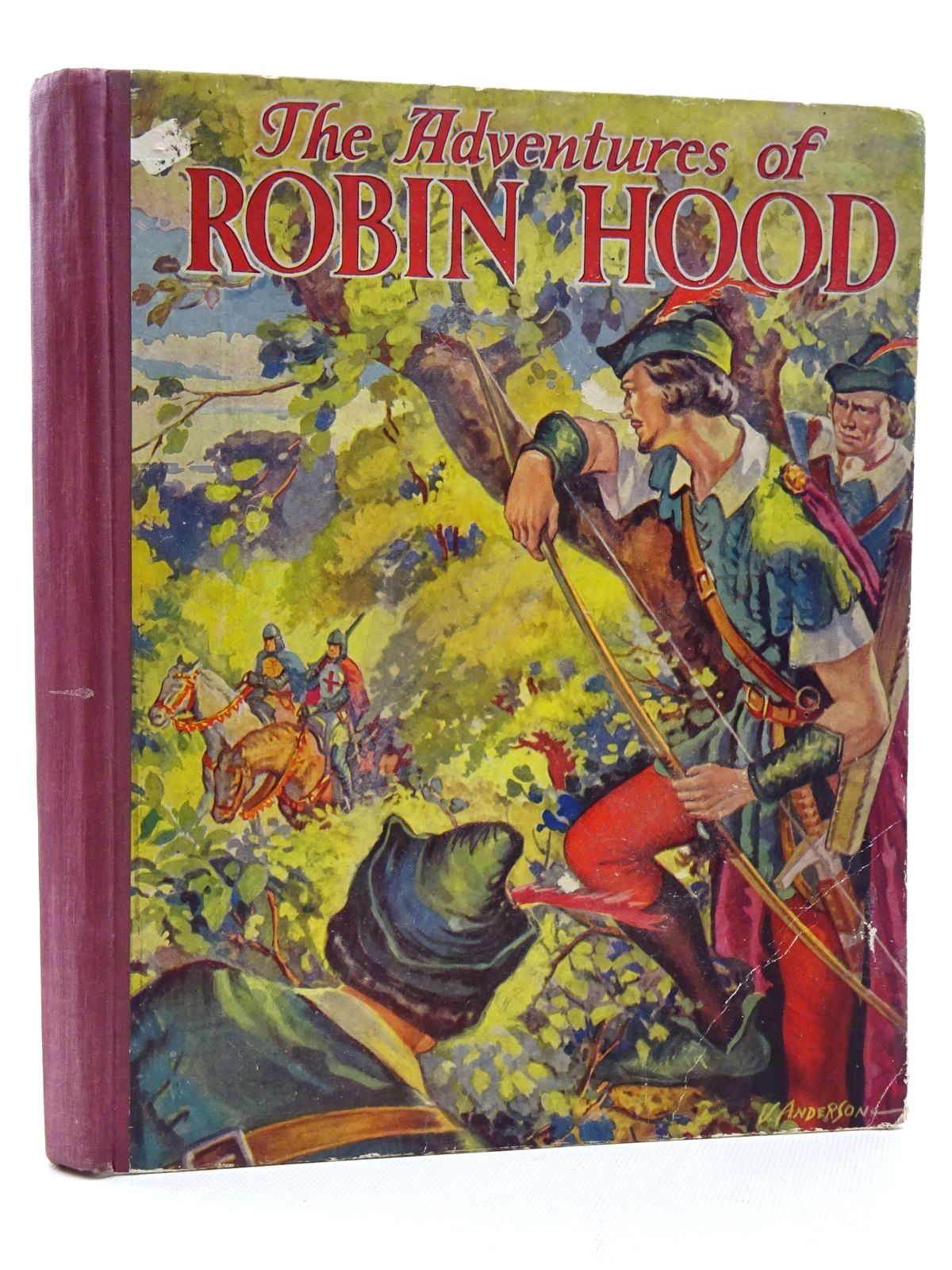 Photo of THE ADVENTURES OF ROBIN HOOD published by Collins Clear-Type Press (STOCK CODE: 1816002)  for sale by Stella & Rose's Books