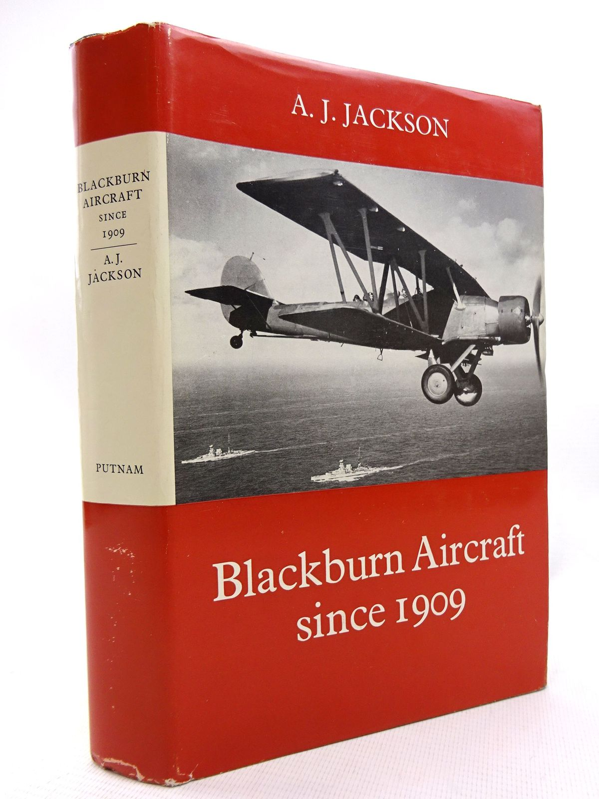 Photo of BLACKBURN AIRCRAFT SINCE 1909 written by Jackson, A.J. published by Putnam (STOCK CODE: 1816021)  for sale by Stella & Rose's Books