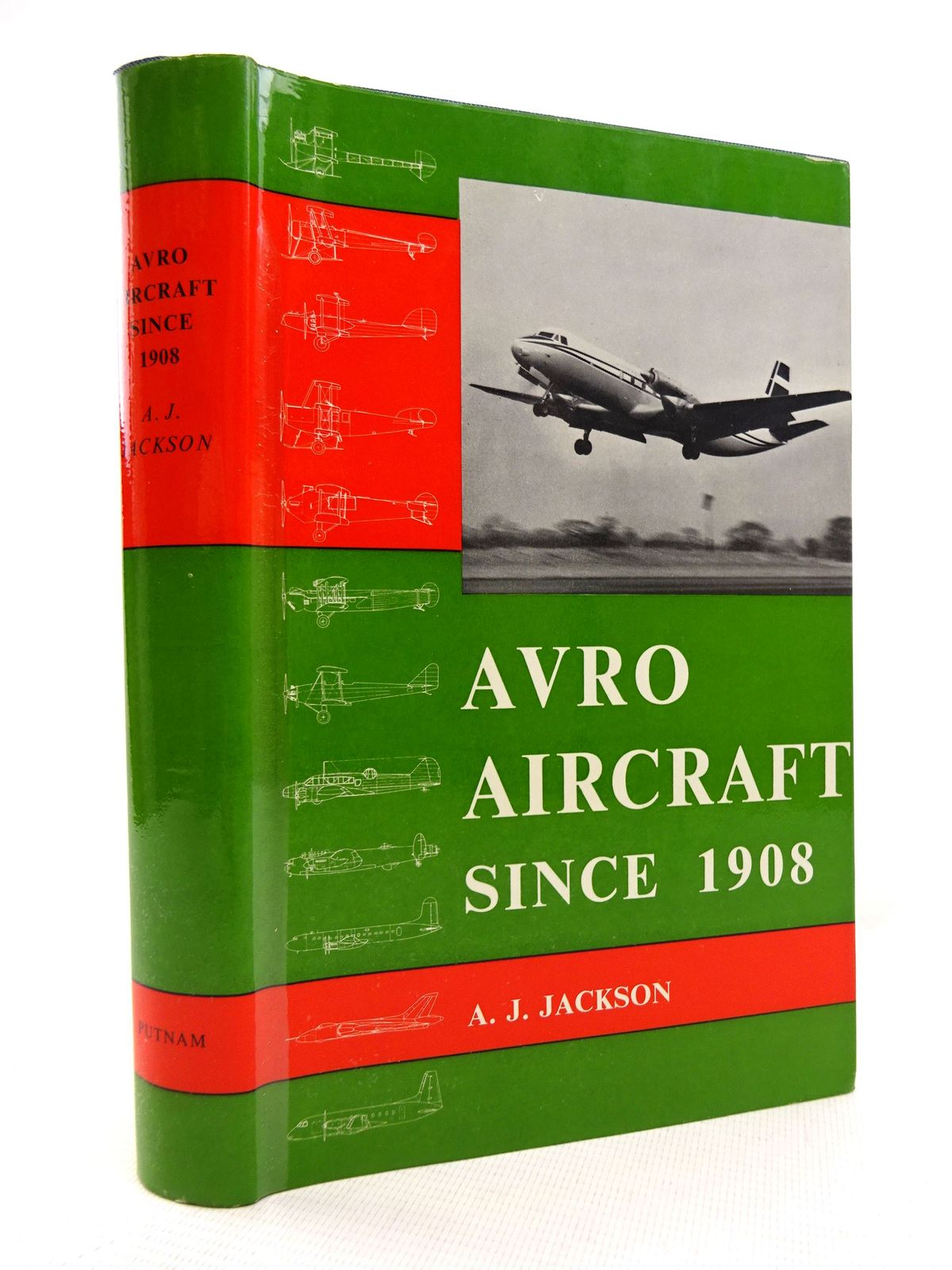 Photo of AVRO AIRCRAFT SINCE 1908 written by Jackson, A.J. published by Putnam (STOCK CODE: 1816023)  for sale by Stella & Rose's Books