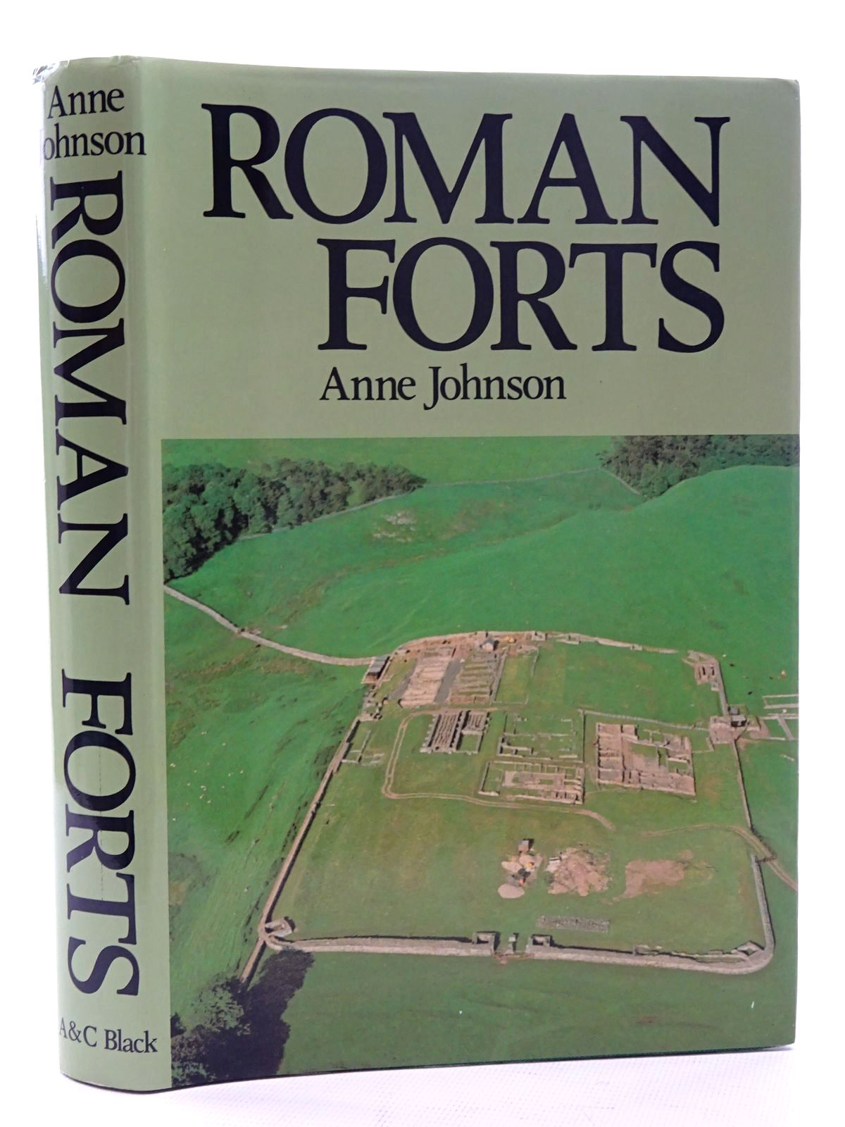 Photo of ROMAN FORTS OF THE 1ST AND 2ND CENTURIES AD IN BRITAIN AND THE GERMAN PROVINCES written by Johnson, Anne published by Adam & Charles Black (STOCK CODE: 1816052)  for sale by Stella & Rose's Books