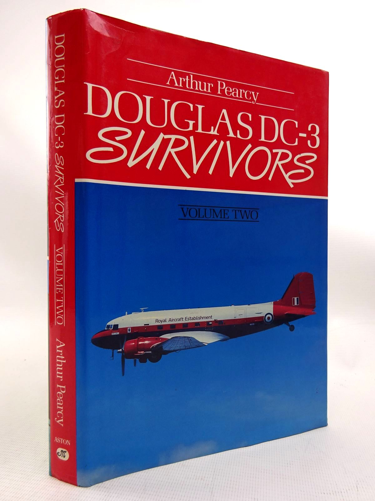 Photo of DOUGLAS DC-3 SURVIVORS VOLUME TWO written by Pearcy, Arthur published by Aston Publications (STOCK CODE: 1816077)  for sale by Stella & Rose's Books