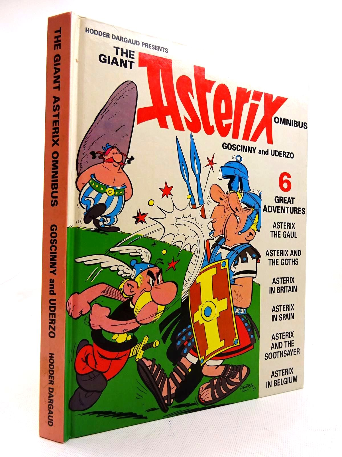 Photo of THE GIANT ASTERIX OMNIBUS written by Goscinny, Rene illustrated by Uderzo, Albert published by Hodder Dargaud (STOCK CODE: 1816092)  for sale by Stella & Rose's Books