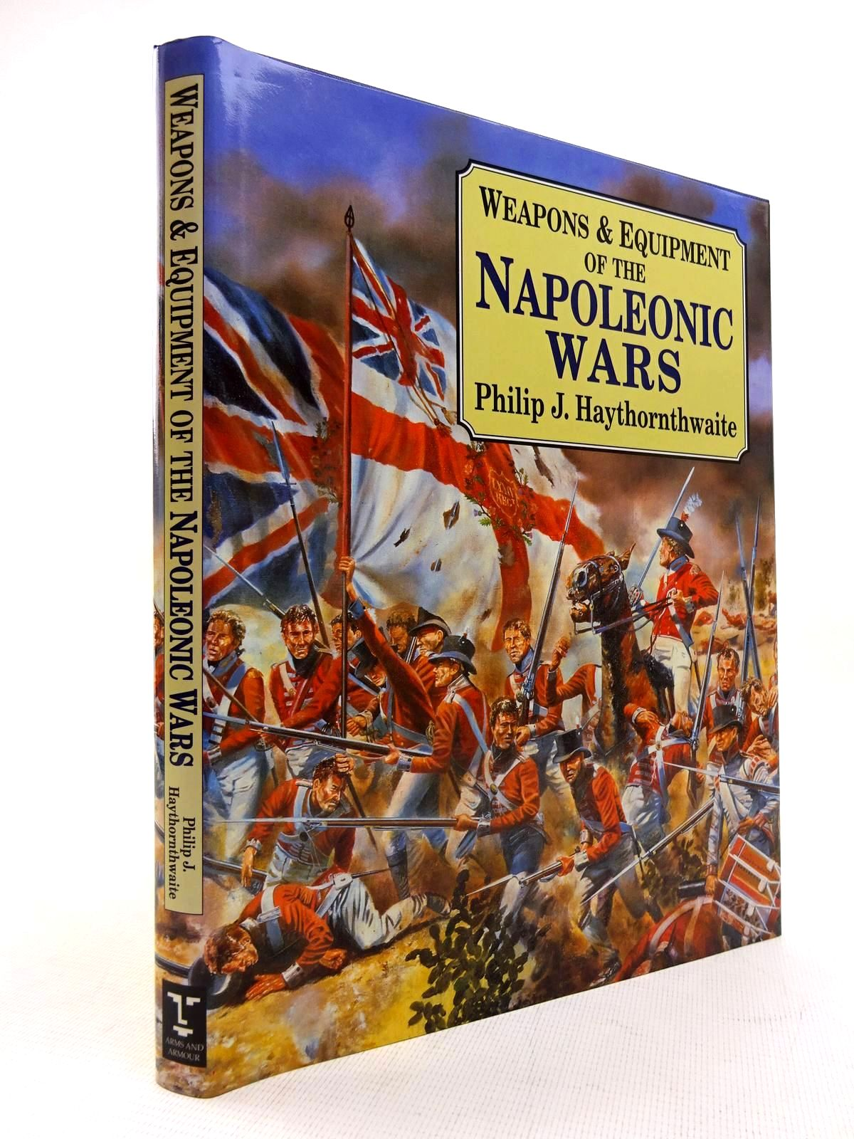 Photo of WEAPONS AND EQUIPMENT OF THE NAPOLEONIC WARS written by Haythornthwaite, Philip published by Arms & Armour Press (STOCK CODE: 1816094)  for sale by Stella & Rose's Books