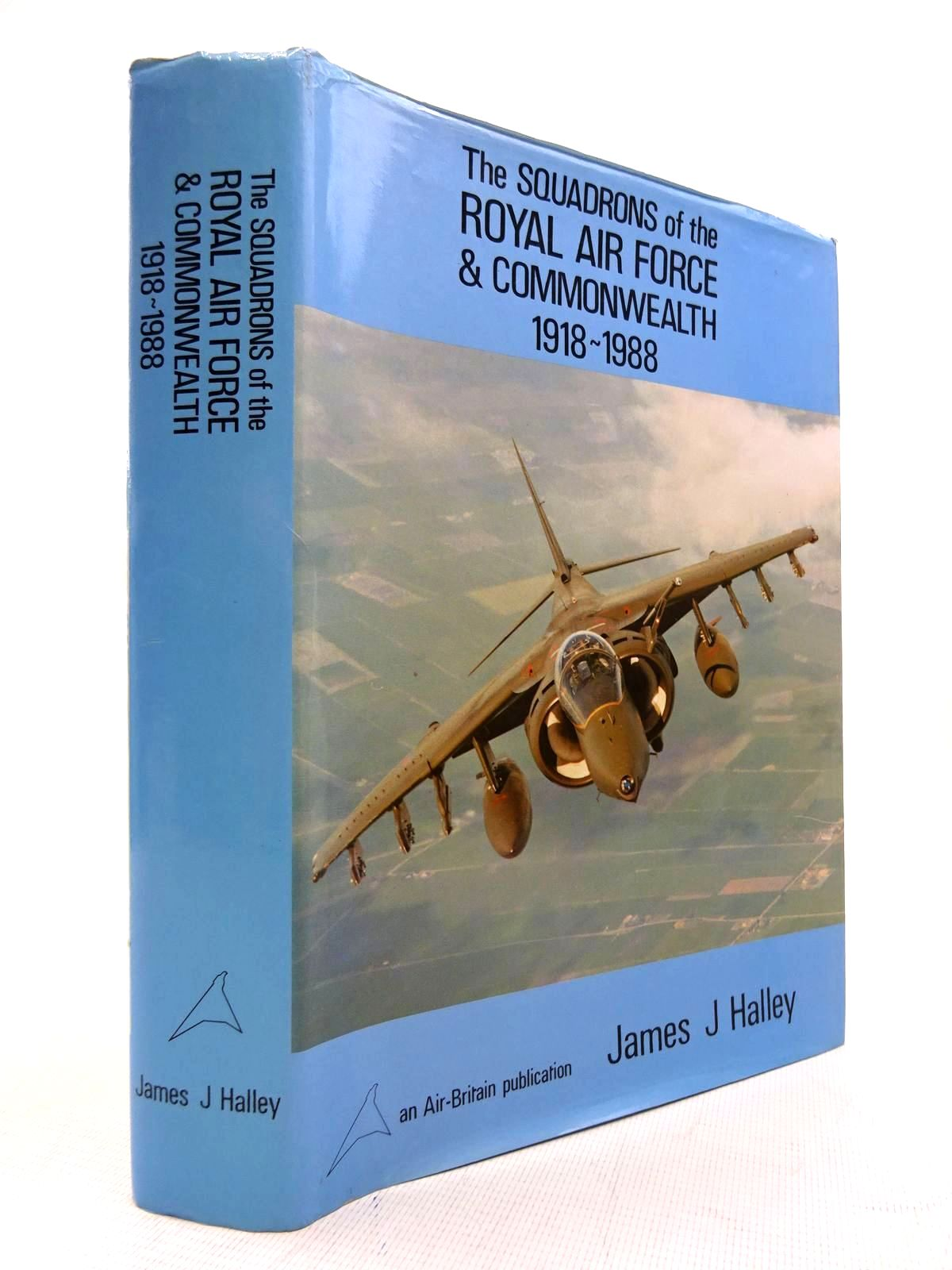 Photo of THE SQUADRONS OF THE ROYAL AIR FORCE & COMMONWEALTH 1918-1988 written by Halley, James J. published by Air-Britain (historians) Ltd. (STOCK CODE: 1816100)  for sale by Stella & Rose's Books