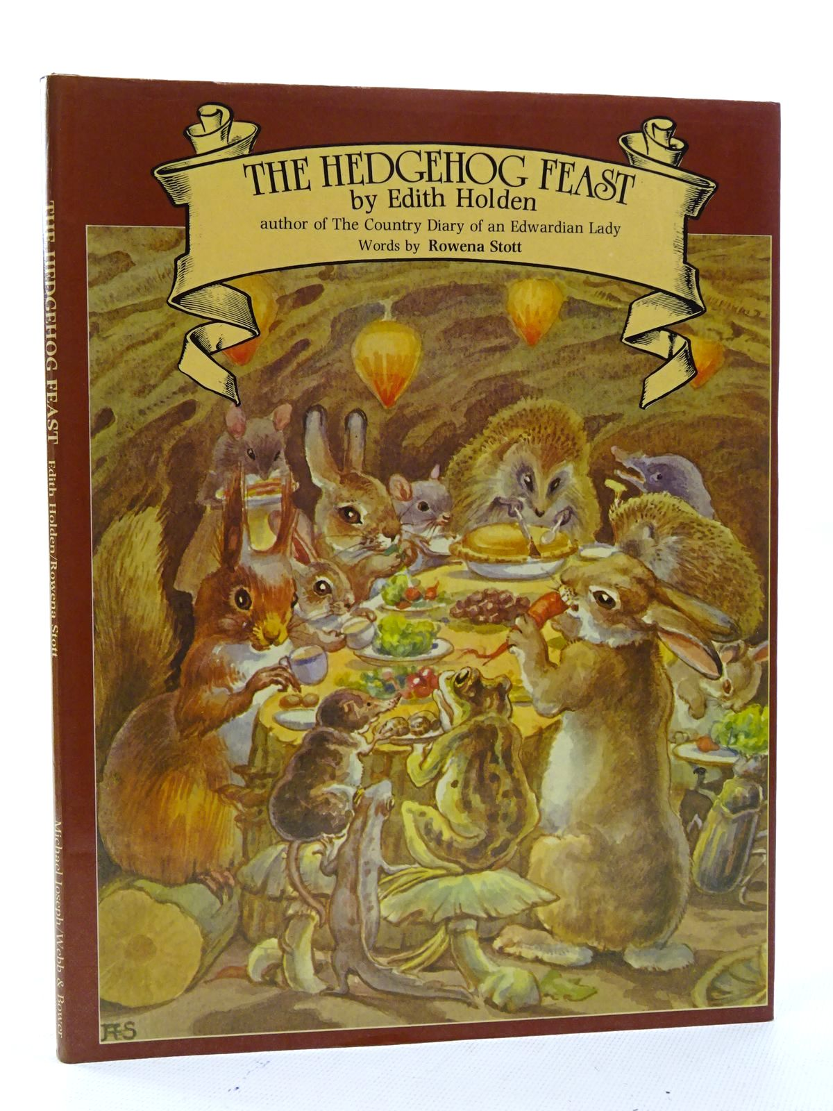 Photo of THE HEDGEHOG FEAST written by Stott, Rowena illustrated by Holden, Edith published by Michael Joseph, Webb & Bower (STOCK CODE: 1816133)  for sale by Stella & Rose's Books