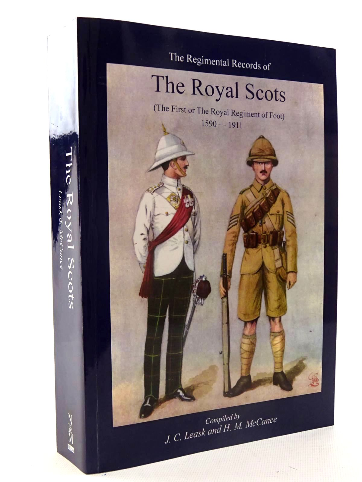 Photo of THE REGIMENTAL RECORDS OF THE ROYAL SCOTS (THE FIRST OF THE ROYAL REGIMENT OF FOOT) written by Leask, J.C.<br />McCance, H.M. published by The Naval & Military Press Ltd. (STOCK CODE: 1816223)  for sale by Stella & Rose's Books