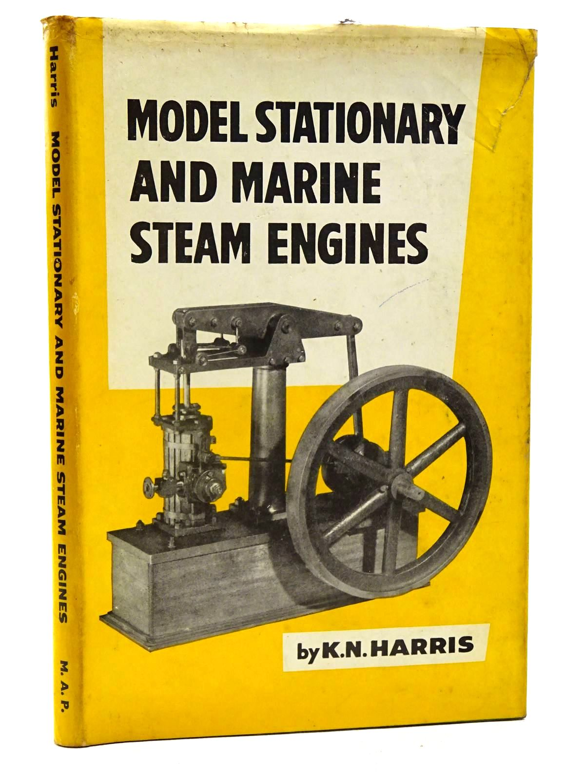 Photo of MODEL STATIONARY AND MARINE STEAM ENGINES written by Harris, K.N. published by Model & Allied Publications Ltd. (STOCK CODE: 1816236)  for sale by Stella & Rose's Books