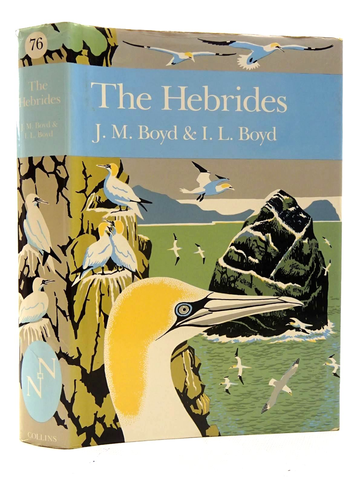 Photo of THE HEBRIDES (NN 76) written by Boyd, J. Morton<br />Boyd, I.L. published by Collins (STOCK CODE: 1816250)  for sale by Stella & Rose's Books