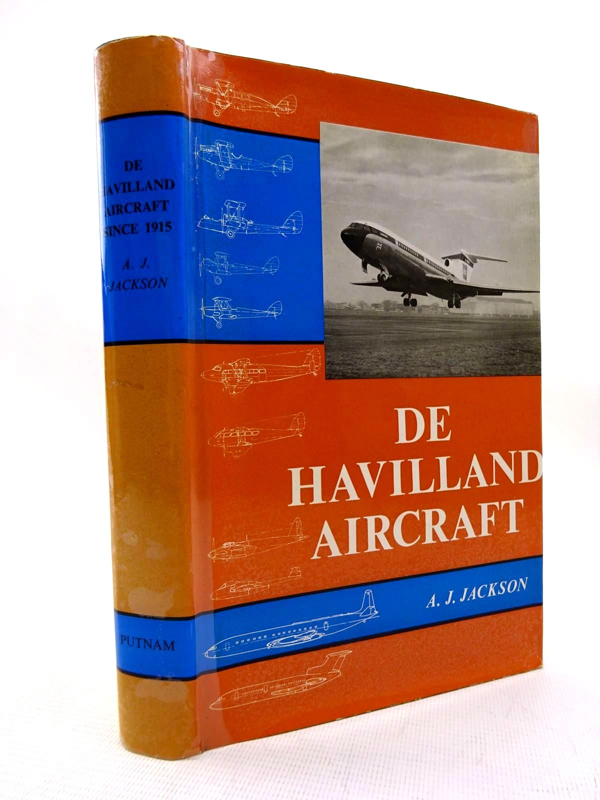 Photo of DE HAVILLAND AIRCRAFT SINCE 1915 written by Jackson, A.J. published by Putnam (STOCK CODE: 1816305)  for sale by Stella & Rose's Books