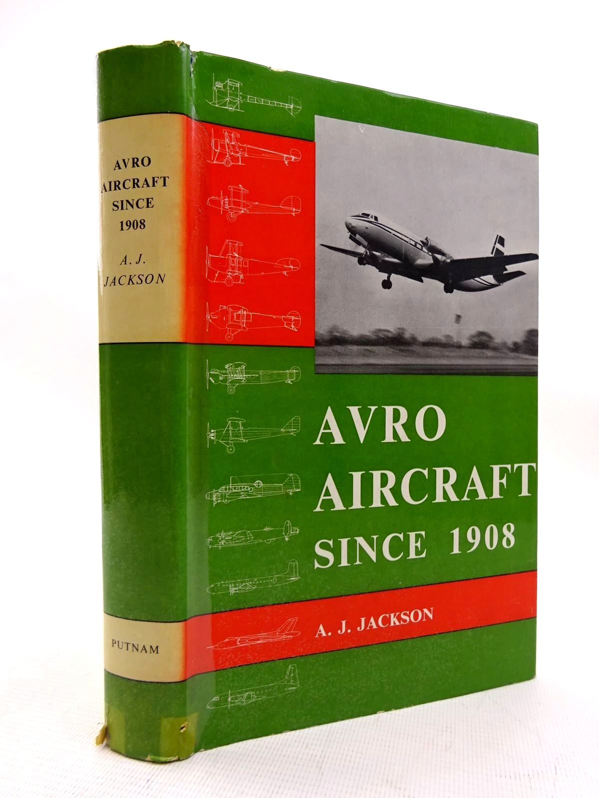 Photo of AVRO AIRCRAFT SINCE 1908 written by Jackson, A.J. published by Putnam (STOCK CODE: 1816306)  for sale by Stella & Rose's Books