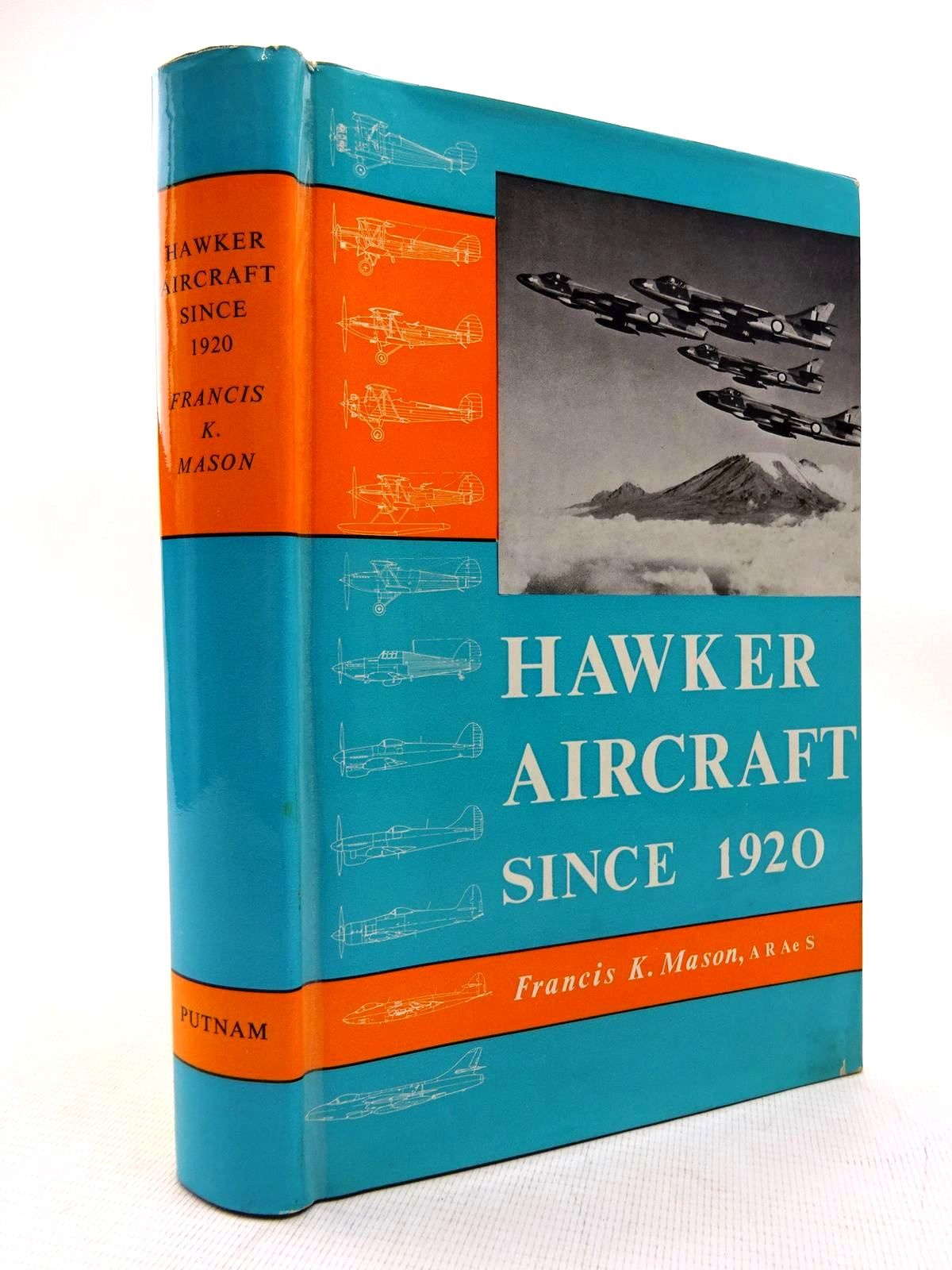 Photo of HAWKER AIRCRAFT SINCE 1920 written by Mason, Francis K. published by Putnam (STOCK CODE: 1816308)  for sale by Stella & Rose's Books