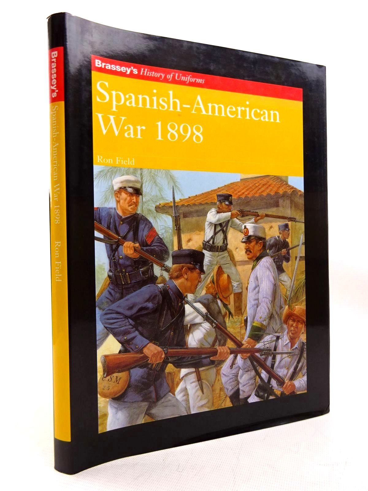 Photo of SPANISH-AMERICAN WAR 1898 written by Field, Ron illustrated by Hook, Richard published by Brassey's (STOCK CODE: 1816317)  for sale by Stella & Rose's Books