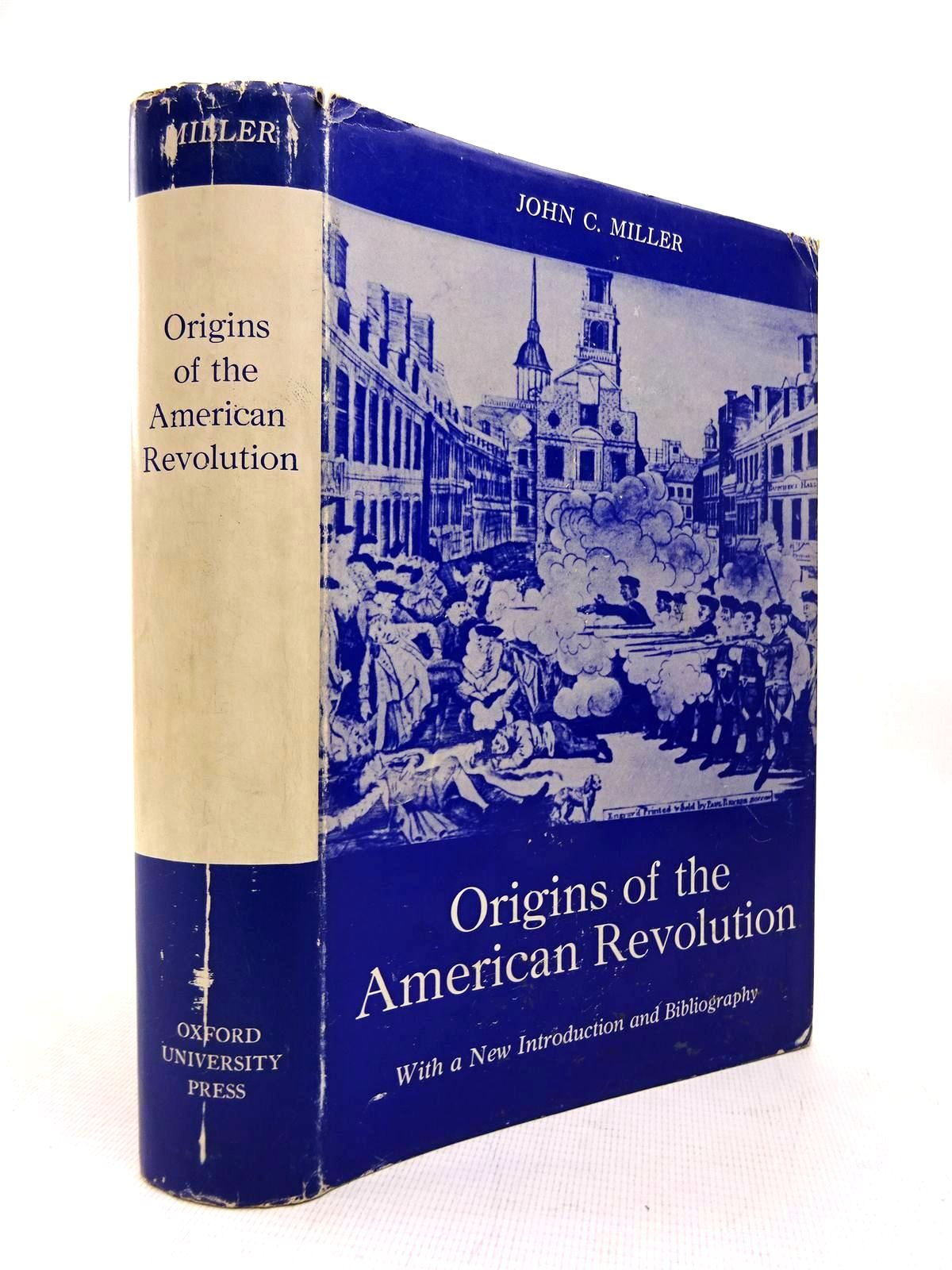 Photo of ORIGINS OF THE AMERICAN REVOLUTION written by Miller, John C. illustrated by Simon, Eric M. published by Stanford University Press (STOCK CODE: 1816353)  for sale by Stella & Rose's Books