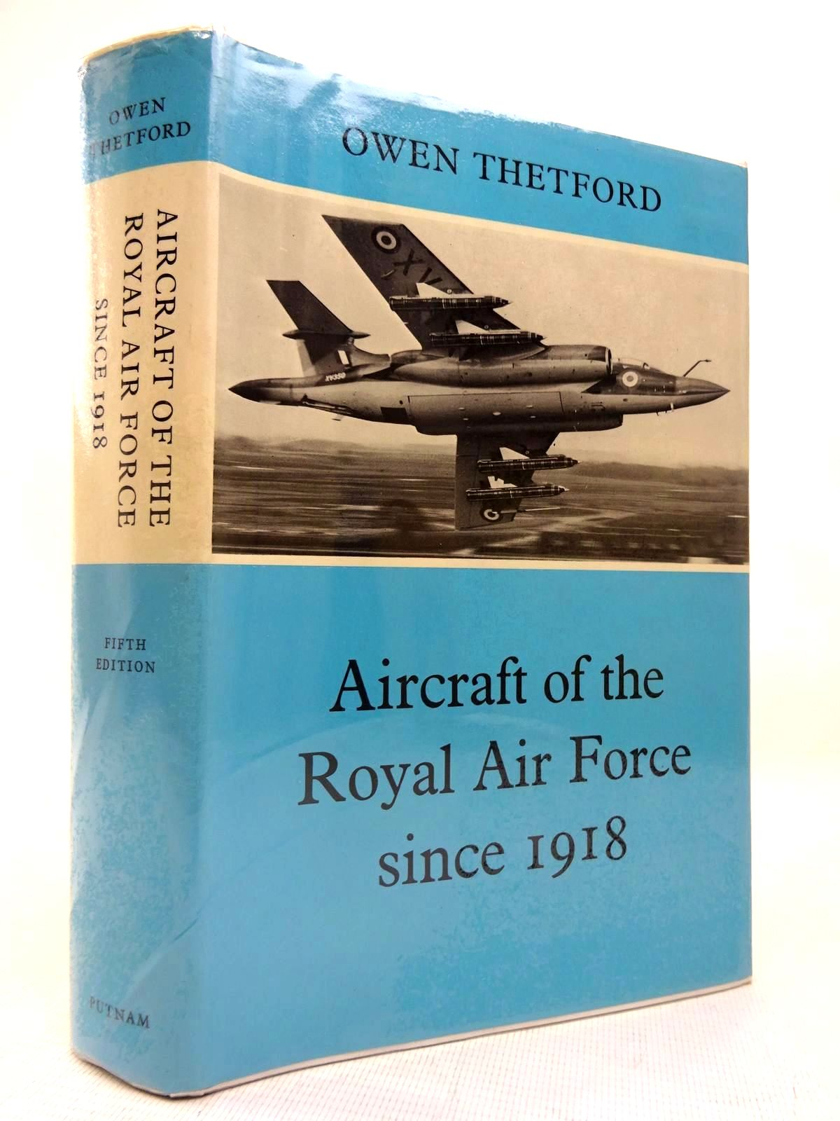 Photo of AIRCRAFT OF THE ROYAL AIR FORCE SINCE 1918 written by Thetford, Owen G. published by Putnam & Company (STOCK CODE: 1816407)  for sale by Stella & Rose's Books