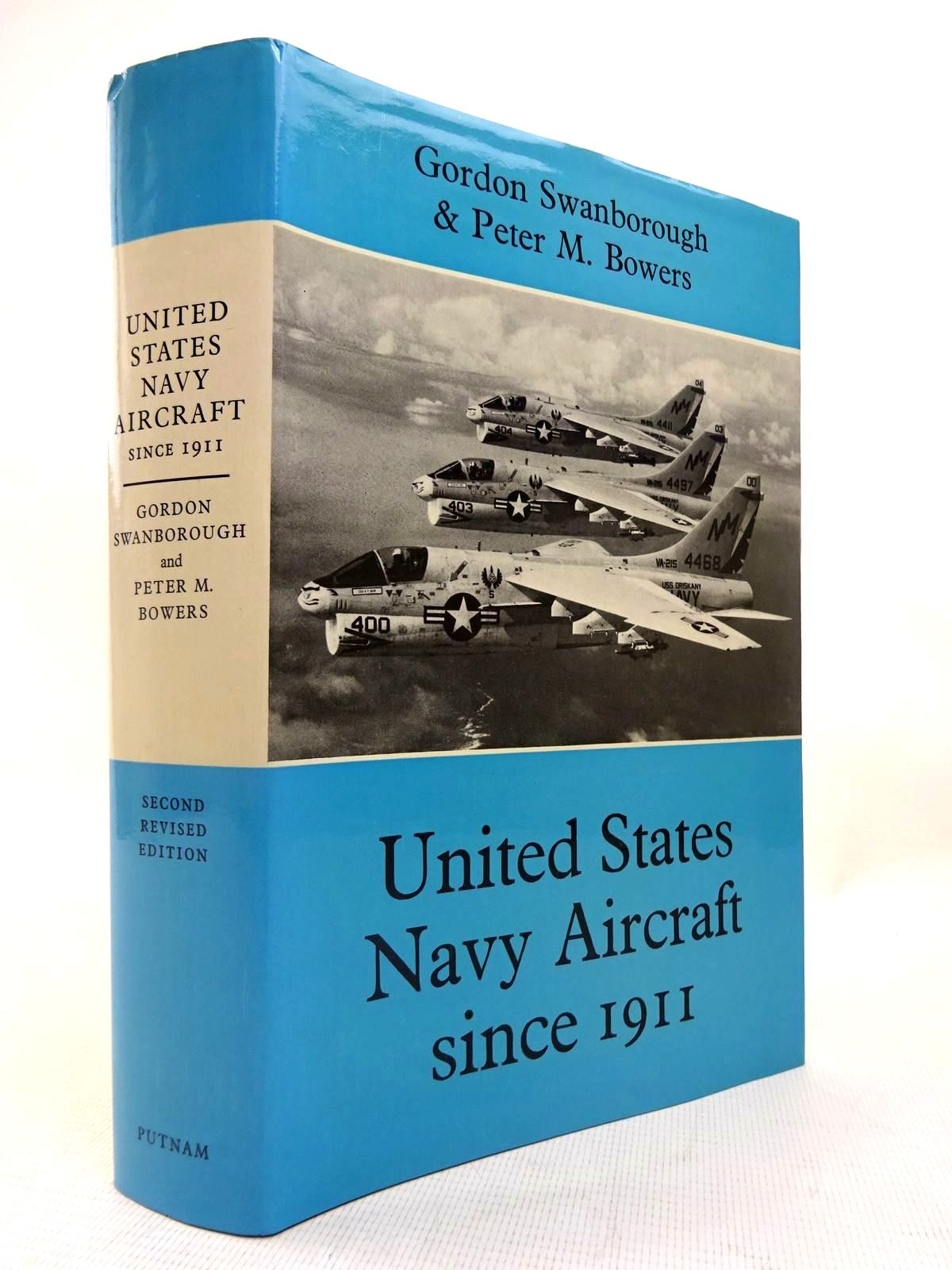 Photo of UNITED STATES NAVY AIRCRAFT SINCE 1911 written by Swanborough, Gordon<br />Bowers, Peter M. published by Putnam (STOCK CODE: 1816411)  for sale by Stella & Rose's Books