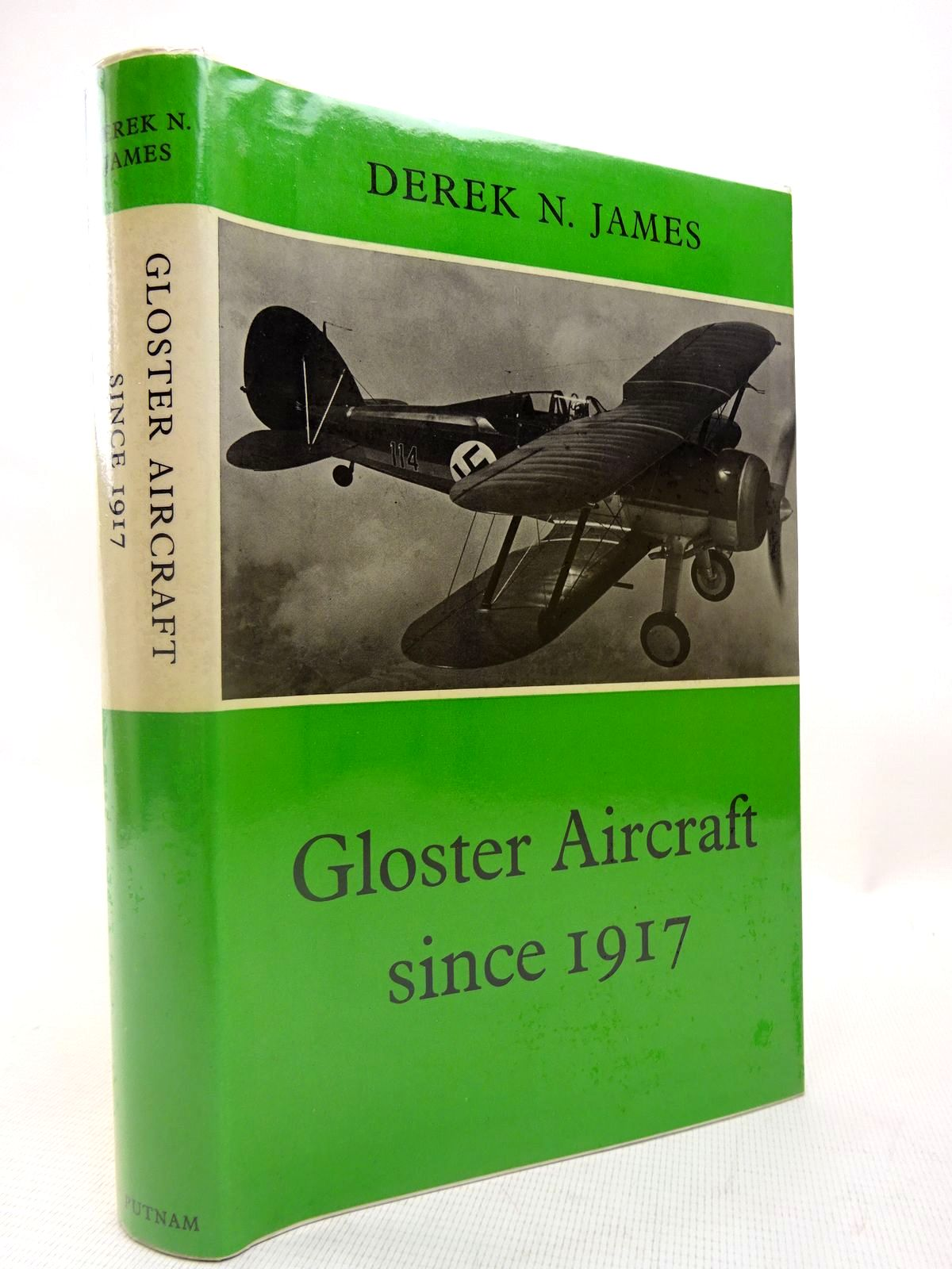 Photo of GLOSTER AIRCRAFT SINCE 1917 written by James, Derek N. published by Putnam (STOCK CODE: 1816414)  for sale by Stella & Rose's Books
