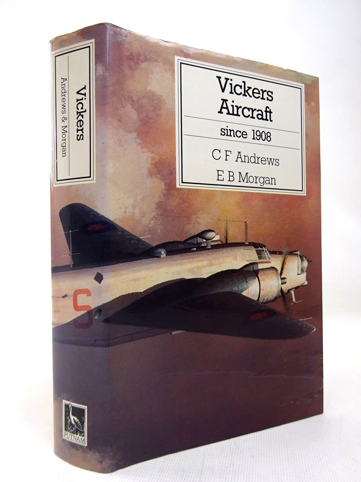 Photo of VICKERS AIRCRAFT SINCE 1908 written by Andrews, C.F.<br />Morgan, Eric B. published by Putnam (STOCK CODE: 1816424)  for sale by Stella & Rose's Books
