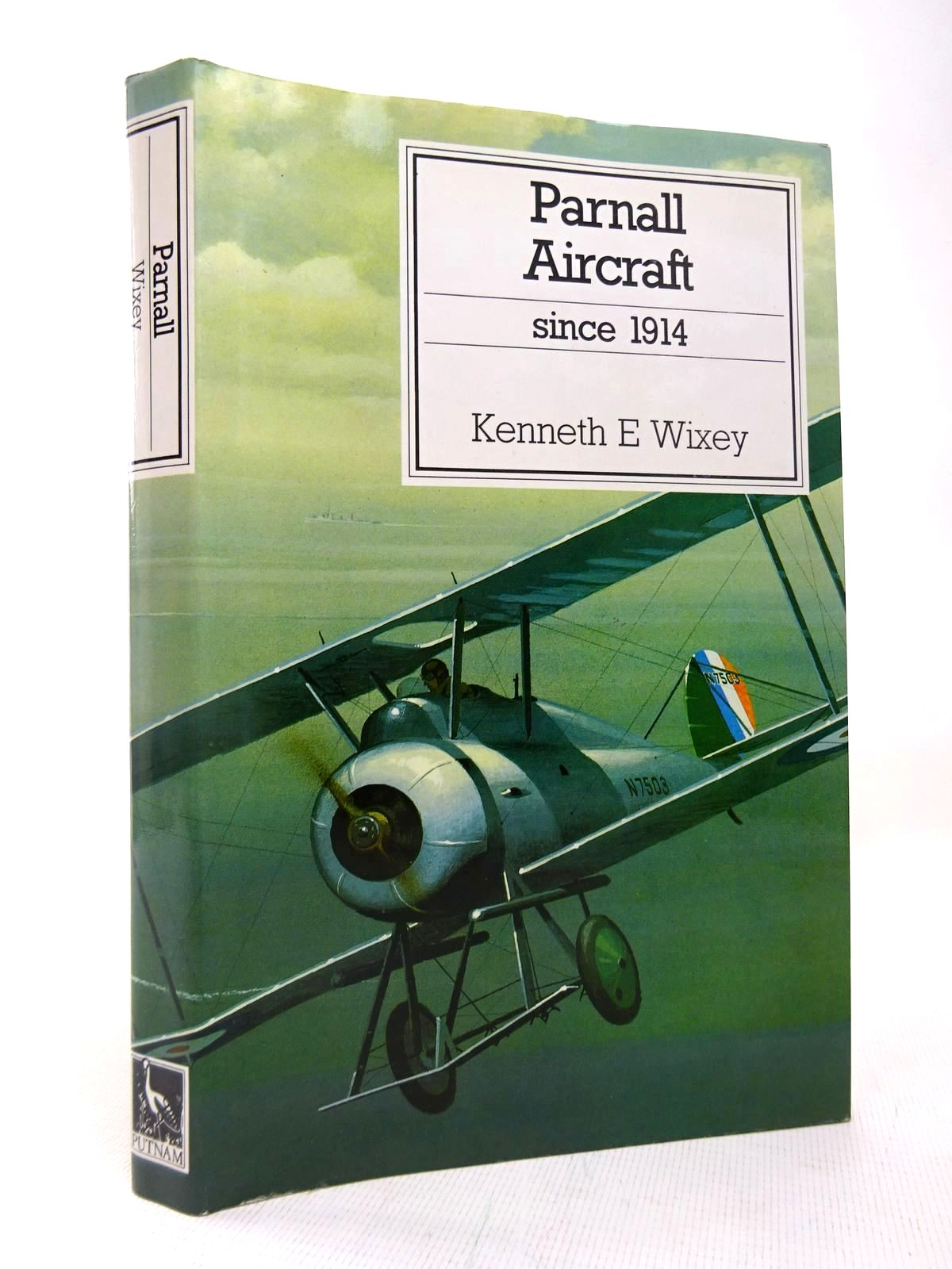 Photo of PARNALL AIRCRAFT SINCE 1914 written by Wixey, Kenneth E. published by Putnam (STOCK CODE: 1816428)  for sale by Stella & Rose's Books