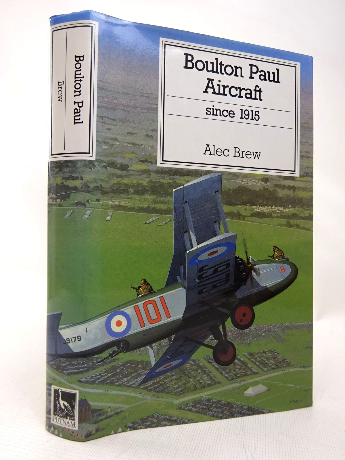 Photo of BOULTON PAUL AIRCRAFT SINCE 1915 written by Brew, Alec published by Putnam (STOCK CODE: 1816429)  for sale by Stella & Rose's Books