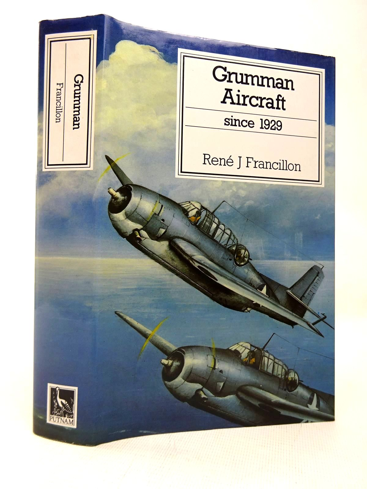 Photo of GRUMMAN AIRCRAFT SINCE 1929 written by Francillon, Rene J. published by Putnam (STOCK CODE: 1816430)  for sale by Stella & Rose's Books