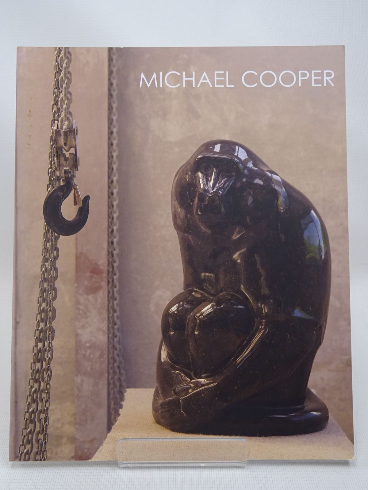 Photo of MICHAEL COOPER: BRONZE & STONE SCULPTURE written by Hoare, Oliver illustrated by Cooper, Michael published by Pangolin London (STOCK CODE: 1816462)  for sale by Stella & Rose's Books