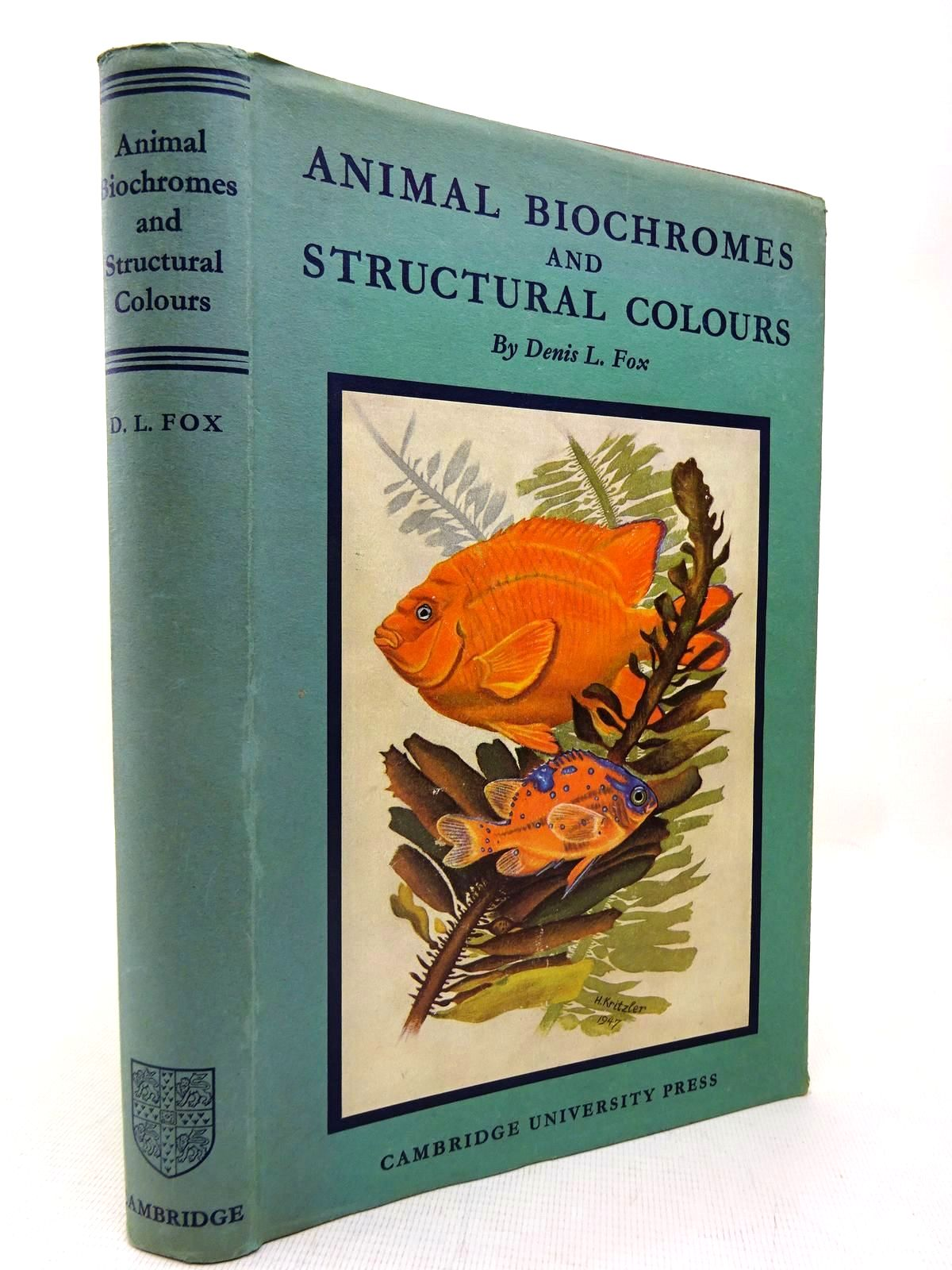 Photo of ANIMAL BIOCHROMES AND STRUCTURAL COLOURS written by Fox, Denis L. published by Cambridge University Press (STOCK CODE: 1816487)  for sale by Stella & Rose's Books