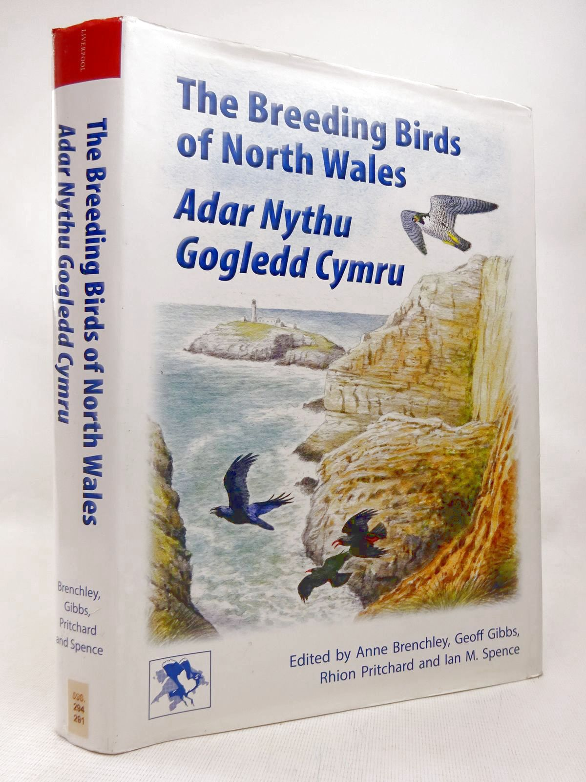 Photo of THE BREEDING BIRDS OF NORTH WALES ADAR NYTHU GOGLEDD CYMRU written by Brenchley, Anne<br />Gibbs, Geoff<br />et al, published by Liverpool University Press (STOCK CODE: 1816538)  for sale by Stella & Rose's Books