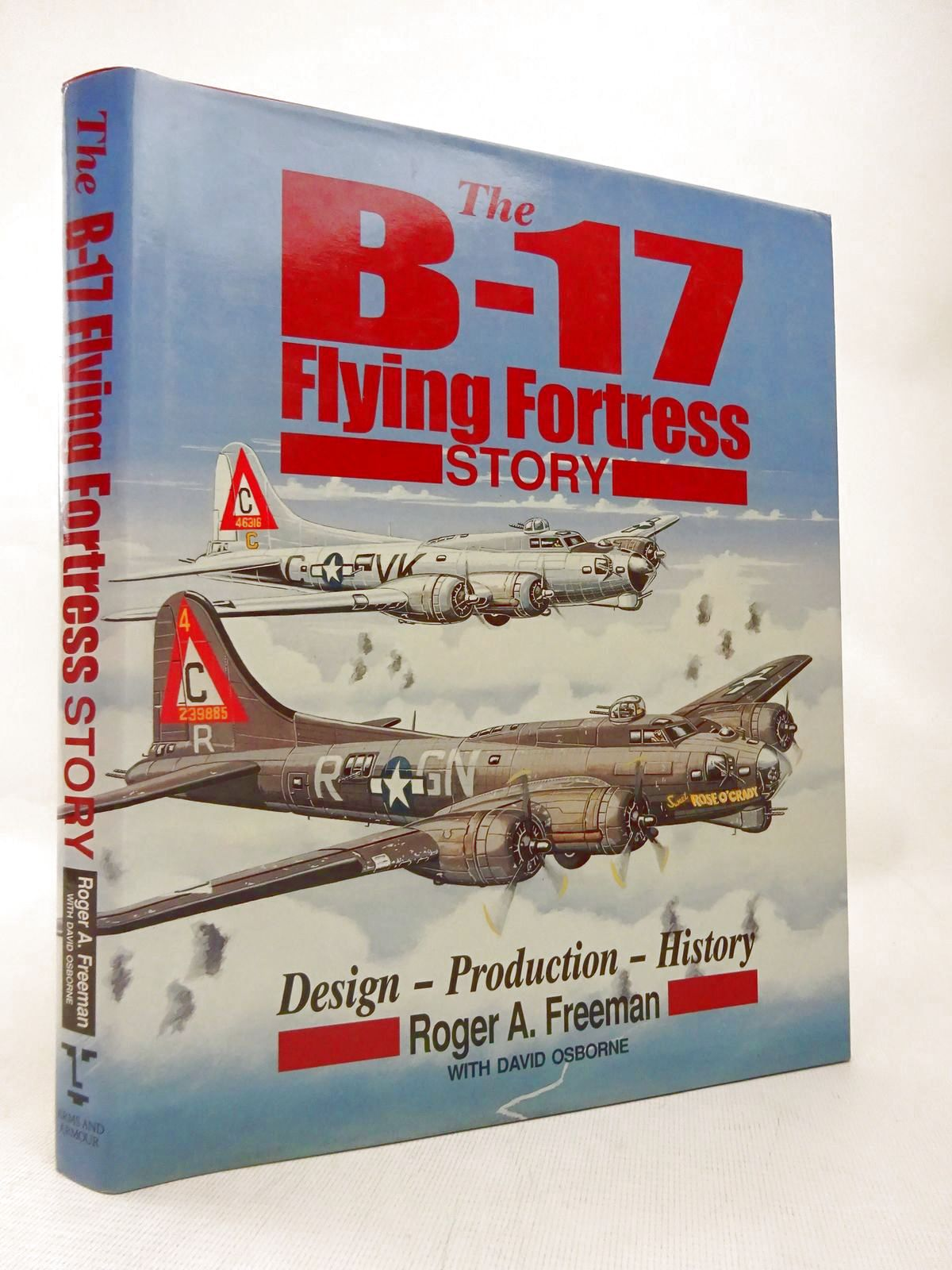Photo of THE B-17 FLYING FORTRESS STORY written by Freeman, Roger A. published by Arms & Armour Press (STOCK CODE: 1816567)  for sale by Stella & Rose's Books