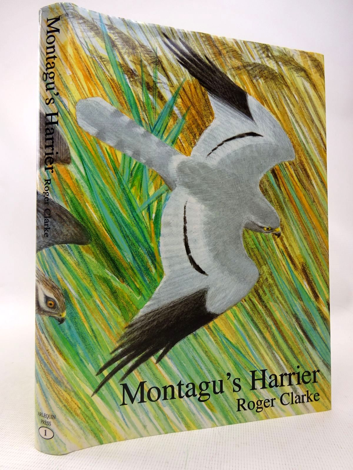 Photo of MONTAGU'S HARRIER written by Clarke, Roger illustrated by Pearson, Bruce published by Arlequin Press (STOCK CODE: 1816588)  for sale by Stella & Rose's Books