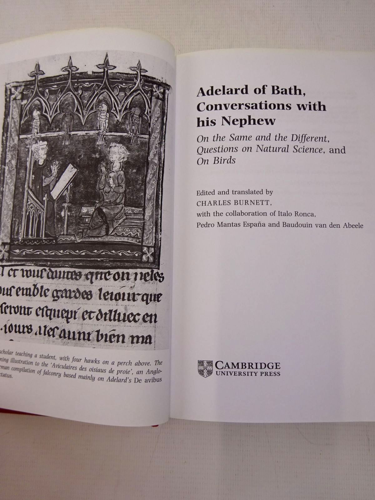 Photo of ADELARD OF BATH, CONVERSATIONS WITH HIS NEPHEW written by Burnett, Charles published by Cambridge University Press (STOCK CODE: 1816595)  for sale by Stella & Rose's Books