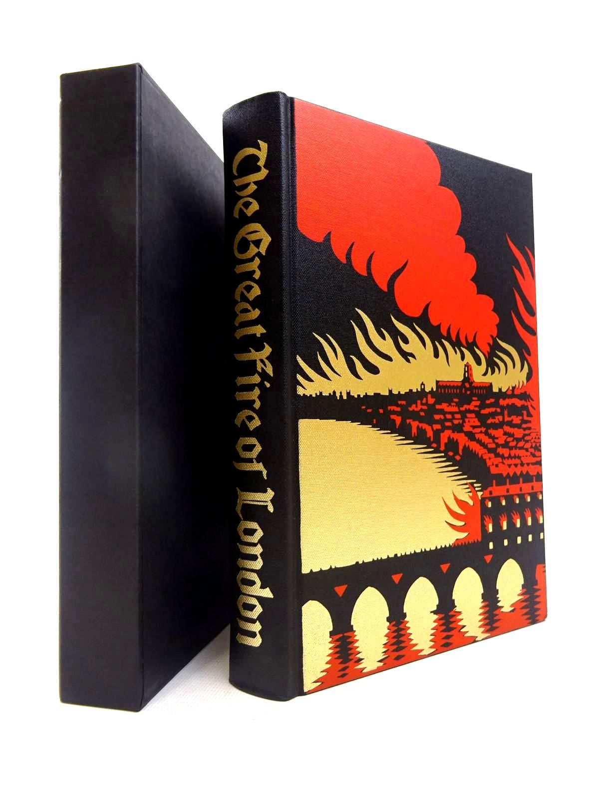 Photo of THE GREAT FIRE OF LONDON IN 1666 written by Bell, Walter George published by Folio Society (STOCK CODE: 1816618)  for sale by Stella & Rose's Books
