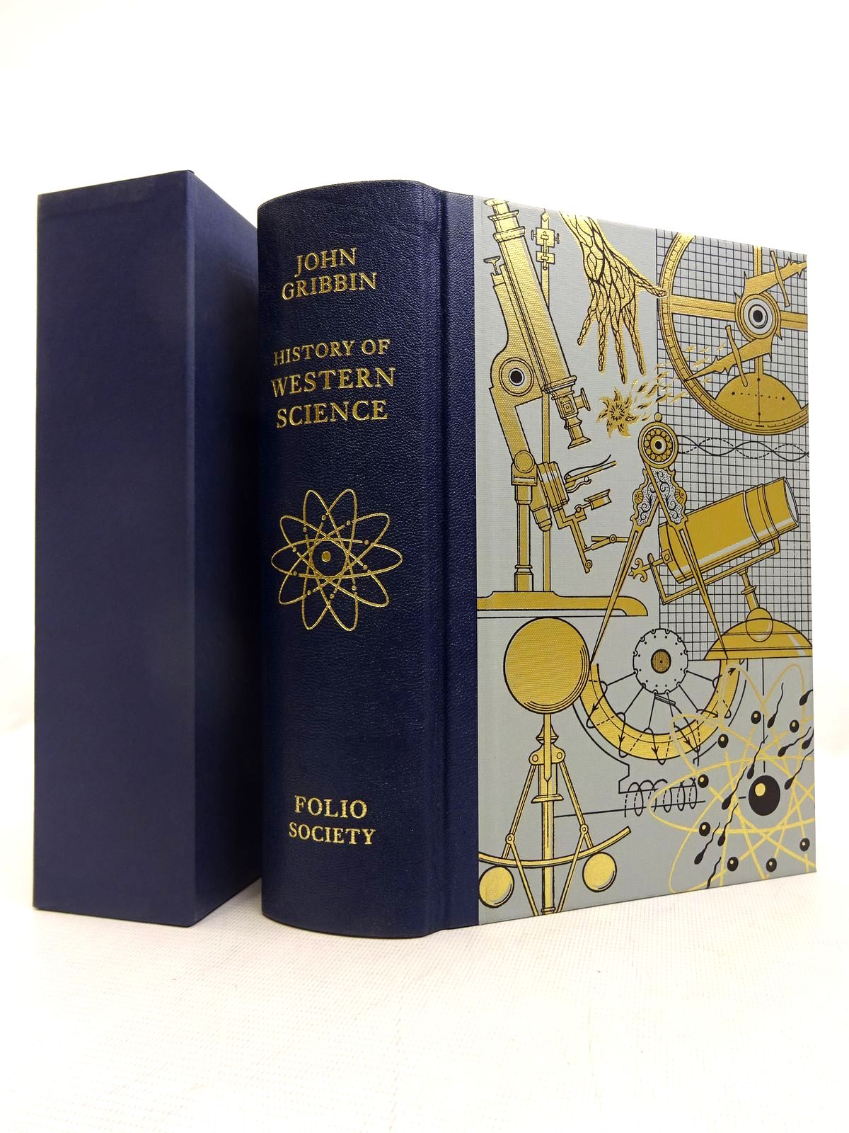 Photo of HISTORY OF WESTERN SCIENCE written by Gribbin, John published by Folio Society (STOCK CODE: 1816624)  for sale by Stella & Rose's Books